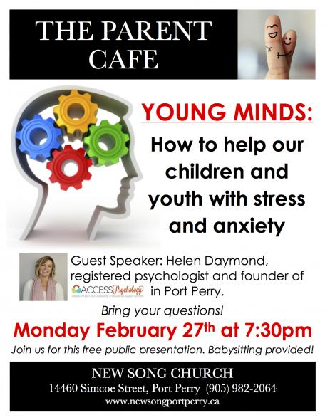 Parent Cafe @ New Song Church | Port Perry | Ontario | Canada