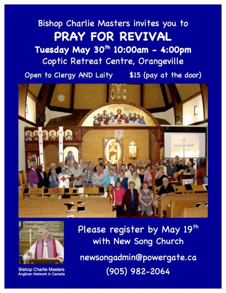 Prayer for Revival Retreat @ The Valley of the Mother of God | Orangeville | Ontario | Canada